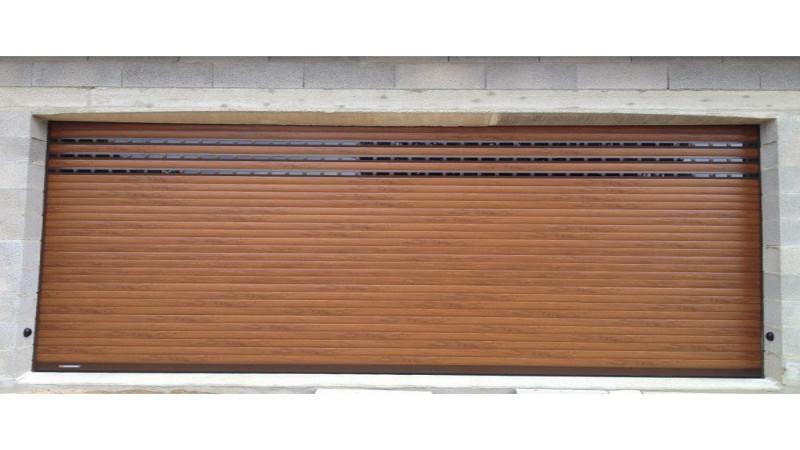 Grande porte de garage - Porte de garage enroulable sur mesure ...