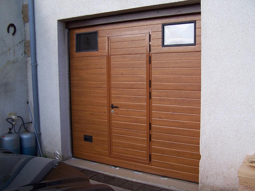 portillon porte de garage