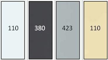 couleurs store intérieur XL
