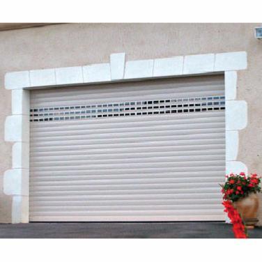 Porte de garage enroulable sur mesure au meileur rapport for Porte de garage enroulable aluminium prix