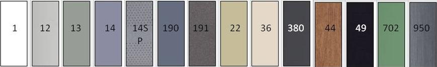couleurs store intérieur XXL
