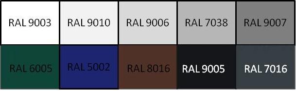 palette Ral z-90
